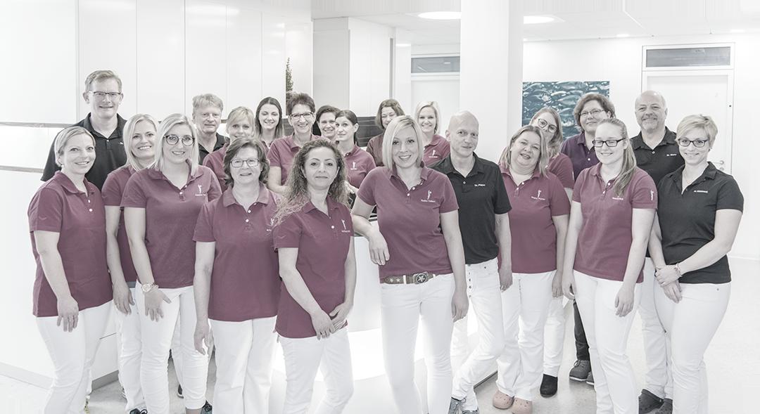 Praxisteam der staufenklinik